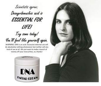 DNA face cream,